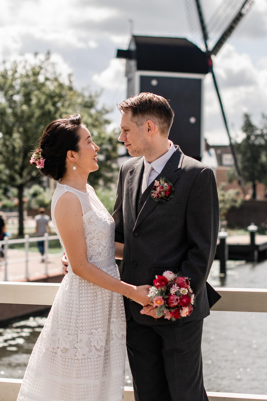 Bruiloft Molen de put Leiden