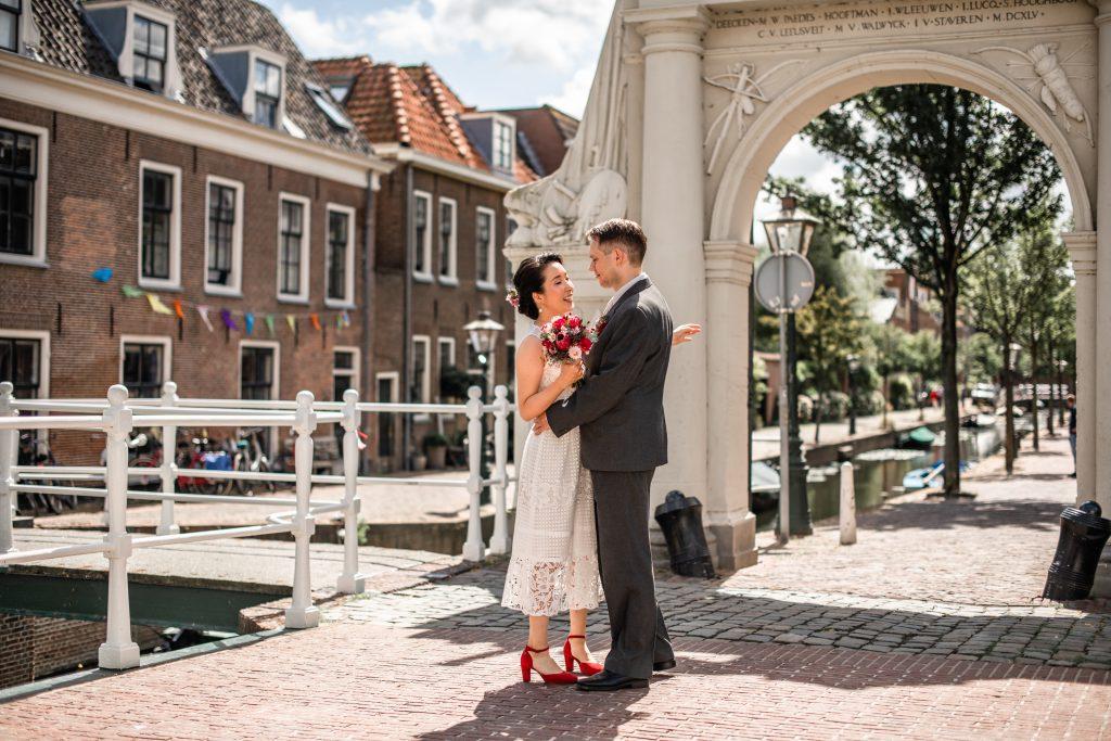 Trouwfoto's Leiden