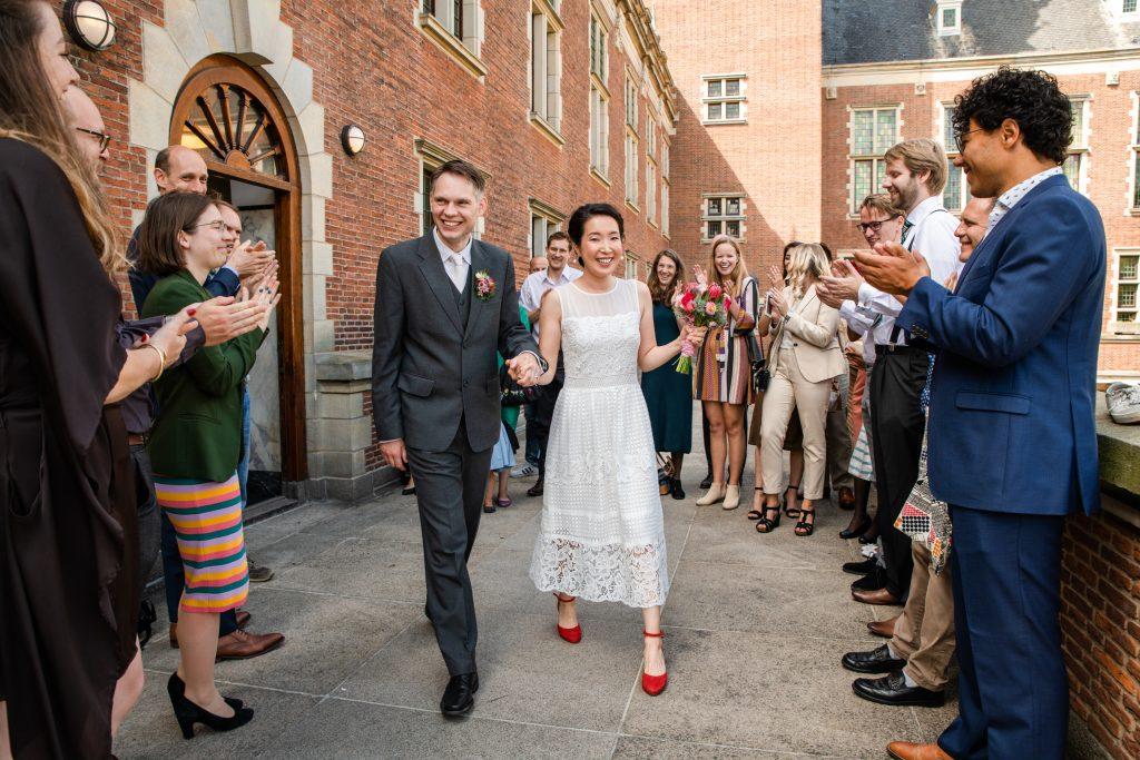 Stadhuis Leiden Bruidsfotograaf